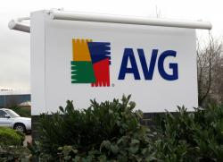 AVG Illuminated Sign